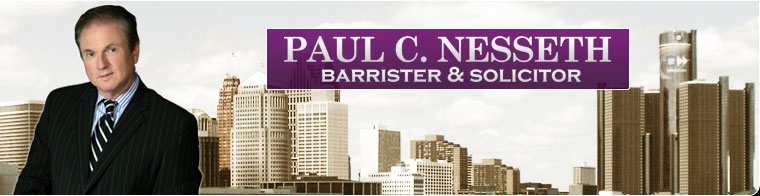 Paul Nesseth - Barrister & Solicitor